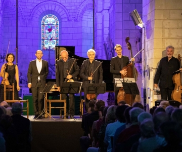 François DUMONT (piano), Quatuor ROSAMONDE,  Yan DUBOST (contrebasse)